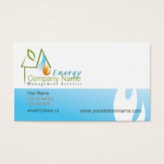 Custom Hvac Business Cards