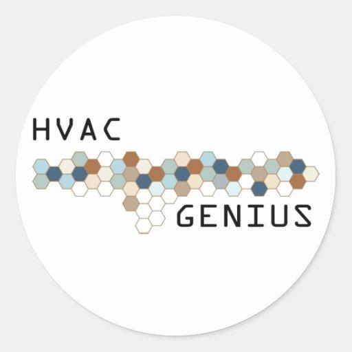 HVAC Genius Sticker