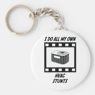 HVAC Stunts Keychain