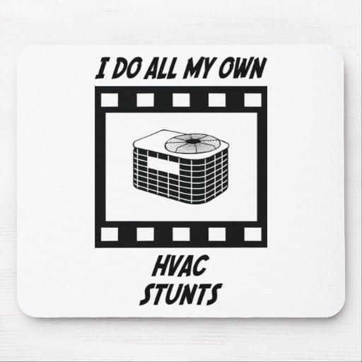 HVAC Stunts Mouse Pad