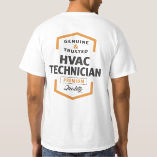HVAC Technician Logo Gifts. T-Shirt