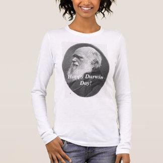 Hw-darwin, Happy Darwin Day! Long Sleeve T-Shirt