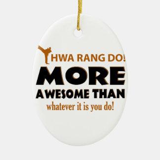 HWA RANG DO! DESIGN CERAMIC ORNAMENT