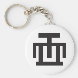 HWE MU DUA | Symbol of Examination Quality Control Keychain