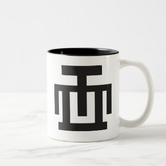 HWE MU DUA | Symbol of Examination Quality Control Two-Tone Coffee Mug