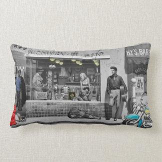 HWY 51 Silver Lumbar Pillow