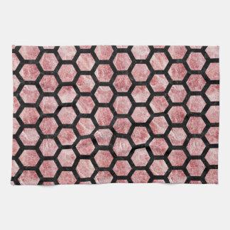 HXG2 BK-RW MARBLE (R) TOWEL