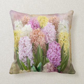 Hyacinth Bouquet 2 Art Designer Pillow