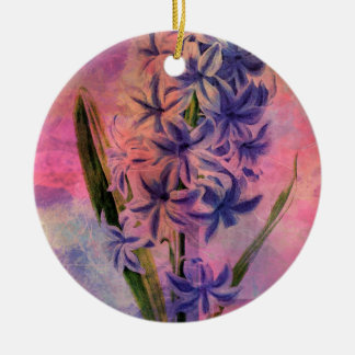 HYACINTH CERAMIC ORNAMENT