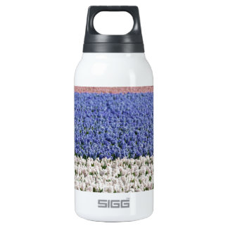 Hyacinth Field Insulated Water Bottle