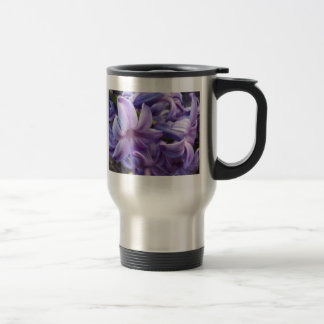 Hyacinth Flowers Travel Mug