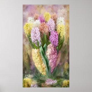 Hyacinth In Hyacinth Vase 2 Fine Art Poster/Print Poster