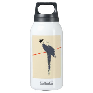 Hyacinth Macaw Alt Art Insulated Water Bottle