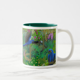 Hyacinth Macaw Jungle Mug