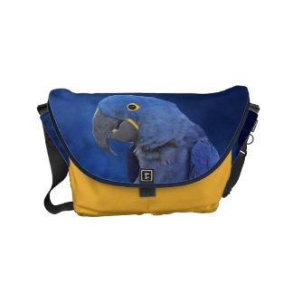 Hyacinth Macaw Messenger Bag