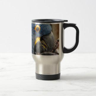 Hyacinth Macaw Parrot Travel Mug