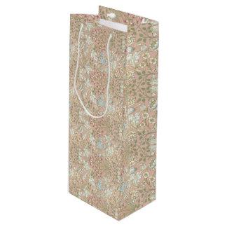 Hyacinth Pattern William Morris Sample Book Wine Gift Bag