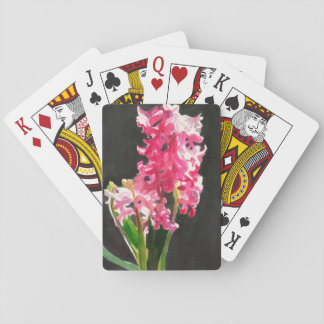 Hyacinth Watercolor Playing Cards
