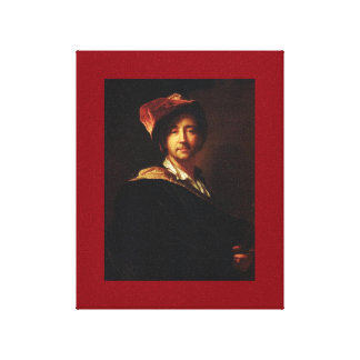 Hyacinthe Rigaud - Self portrait Canvas Print