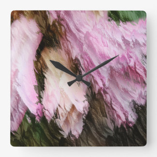 Hyacinths Clock