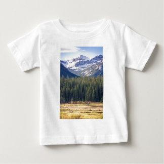 Hyalite Peaks Bozeman, Montana Baby T-Shirt
