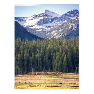 Hyalite Peaks Bozeman, Montana Postcard