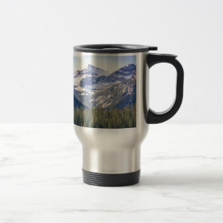 Hyalite Peaks Bozeman, Montana Travel Mug
