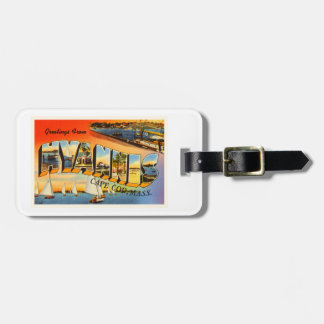 Hyannis Cape Cod Massachusetts MA Travel Souvenir Bag Tag
