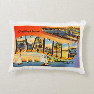 Hyannis Cape Cod Massachusetts MA Travel Souvenir Decorative Pillow