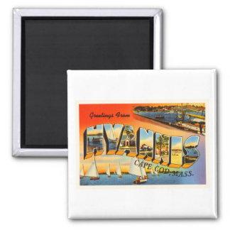 Hyannis Cape Cod Massachusetts MA Travel Souvenir Magnet