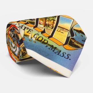 Hyannis Cape Cod Massachusetts MA Travel Souvenir Tie