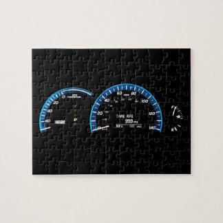 Hybrid Car Instrument Cluster Jigsaw Puzzle