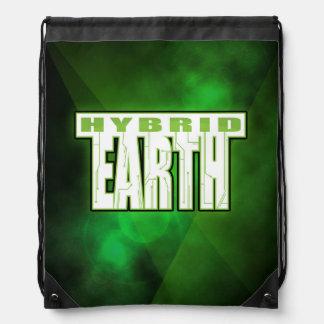 Hybrid Earth Drawstring Drawstring Bag