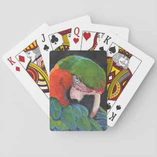 Hybrid Macaw Playing Cards
