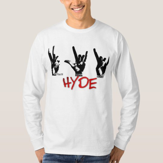 HYDE Men's Long sleeve tee