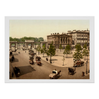 Hyde Park Corner, Antique London, UK Poster