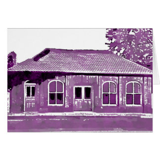 Hyde Park's Historic Cable Car Building Note Card