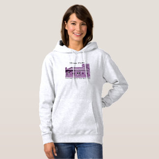 Hyde Park's Historic Cable Car Hooded Sweatshirt