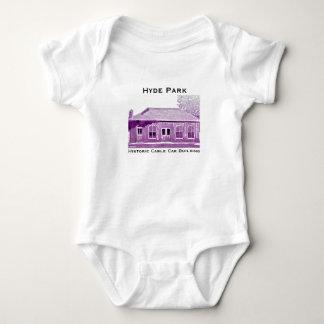 Hyde Park's Historic Cable Car Infant Bodysuit