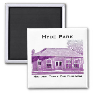 Hyde Park's Historic Cable Car Magnet