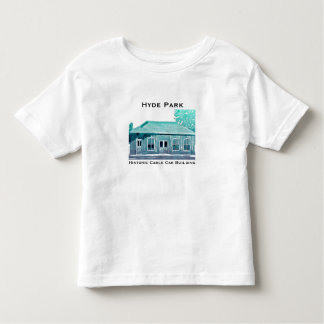 Hyde Park's Historic Cable Car Toddler T-Shirt