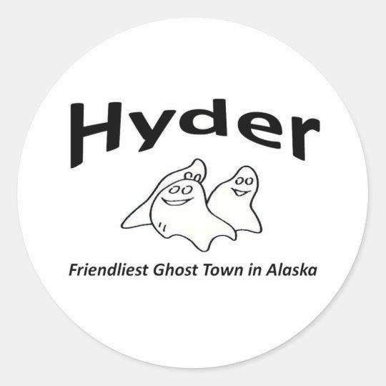 Hyder Classic Round Sticker