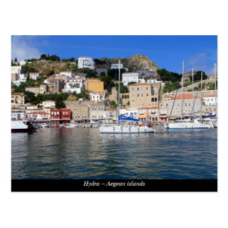 Hydra – Aegean islands Postcard