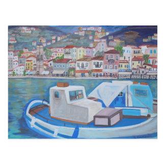 Hydra Island, Greece Postcard