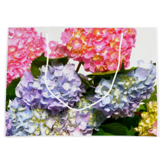 Hydrangea Bouquet Large Gift Bag
