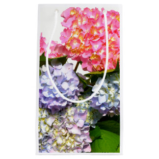 Hydrangea Bouquet Small Gift Bag