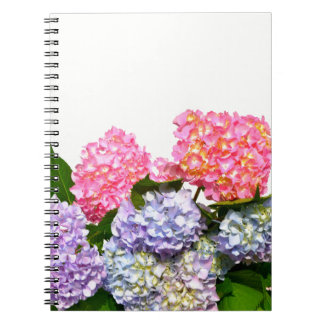 Hydrangea Bouquet Spiral Notebook