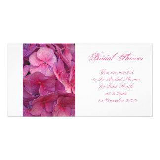 Hydrangea - Bridal Shower Invitation Photo Greeting Card