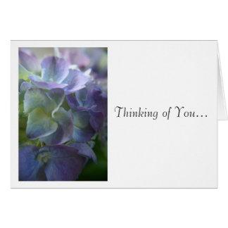 Hydrangea Card