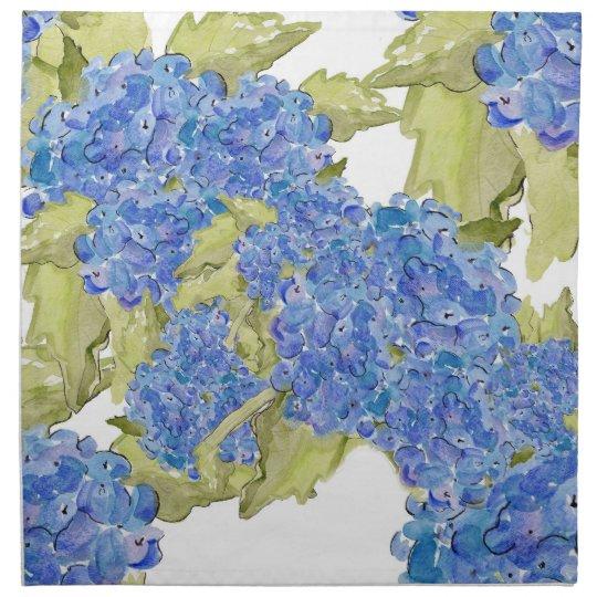 Hydrangea Cloth Napkins